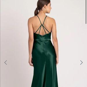 Jenny Yoo Alessia Emerald Green size 4